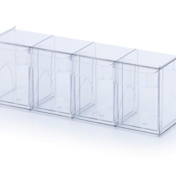 Výklopná nádoba - 4 boxy
